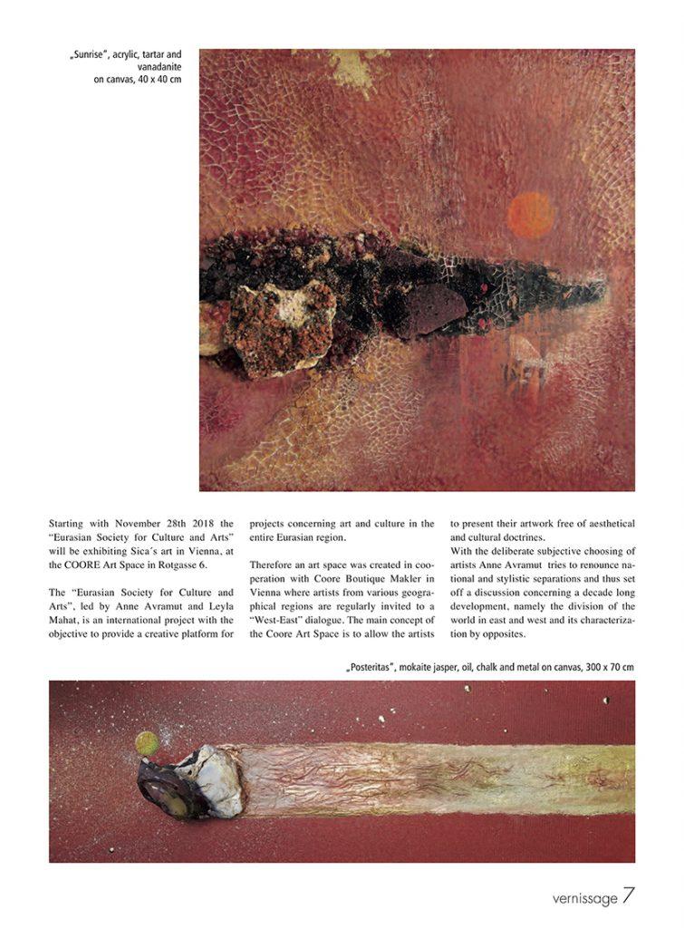 Artikel Vernissage - Sica by Avramut